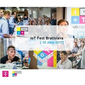 Navštivte IoT Fest Bratislava aprobuďte potenciál IoT na Slovensku!